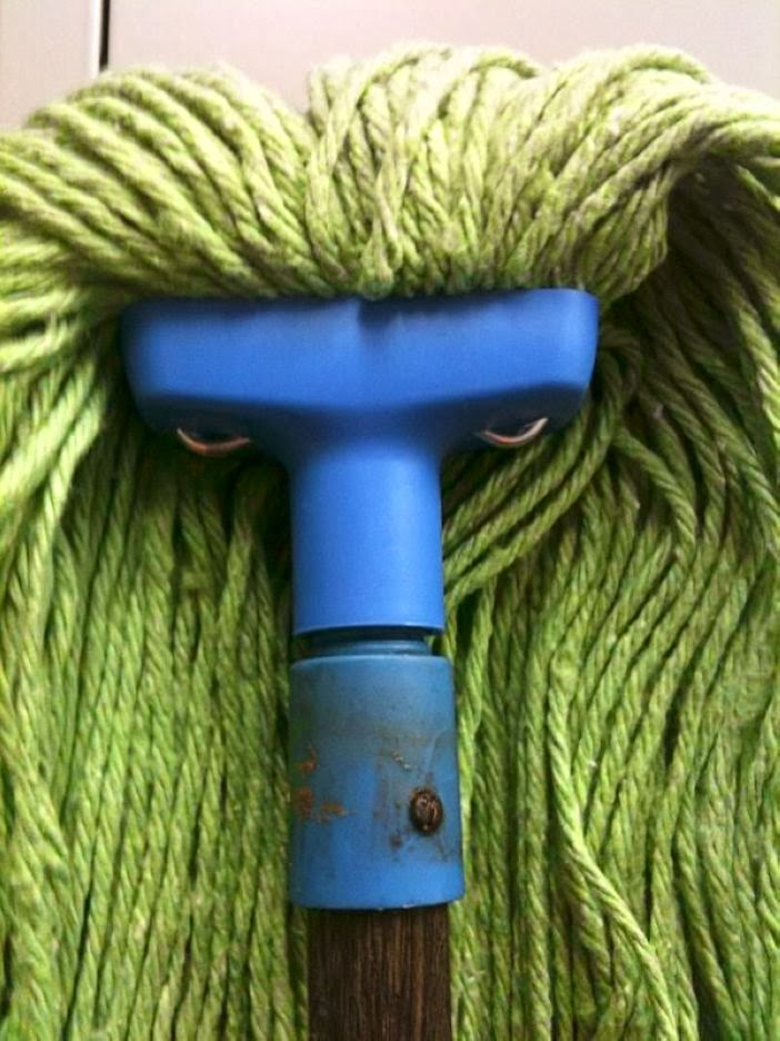13. This broom has had enough of your shit