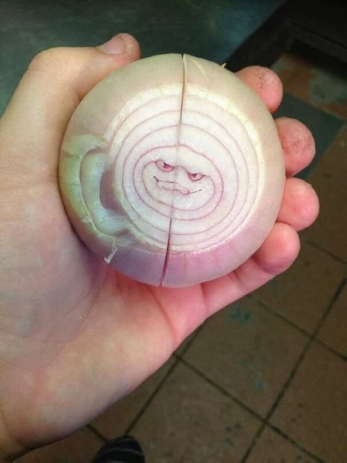 15. Is this an onion or a trapped ninja turtle