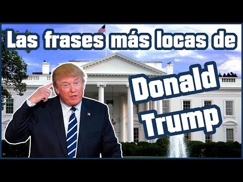 Las frases más locas de el presidente Donald Trump