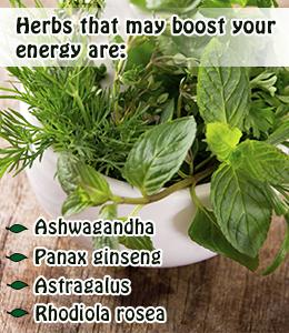 16 Hierbas para aumentar la energia
