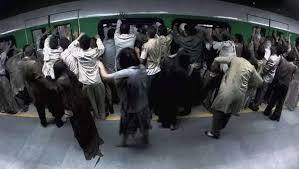 Zoombies en el metro